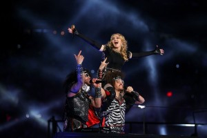 Madonna at the Super Bowl Halftime Show - 5 February 2012 - Update 2 (34)