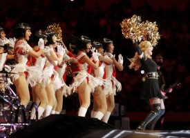 Madonna at the Super Bowl Halftime Show - 5 February 2012 - Update 2 (35)