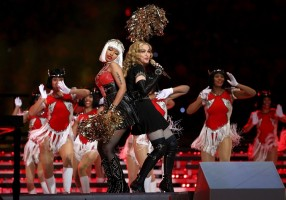 Madonna at the Super Bowl Halftime Show - 5 February 2012 - Update 2 (39)