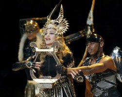 Madonna at the Super Bowl Halftime Show - 5 February 2012 - Update 2 (40)