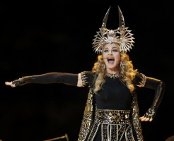 Madonna at the Super Bowl Halftime Show - 5 February 2012 - Update 2 (41)