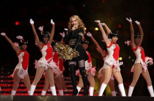 Madonna at the Super Bowl Halftime Show - 5 February 2012 - Update 2 (49)