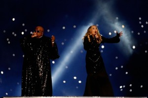 Madonna at the Super Bowl Halftime Show - 5 February 2012 - Update 2 (43)