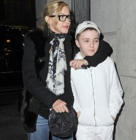 Madonna out and about in New York - 10 February 2012 (1)
