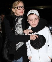 Madonna out and about in New York - 10 February 2012 (3)