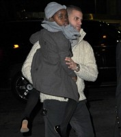 Madonna out and about in New York - 10 February 2012 (7)