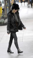Madonna out and about in New York - 11 February 2012 (1)