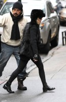 Madonna out and about in New York - 11 February 2012 (2)