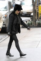 Madonna out and about in New York - 11 February 2012 (3)