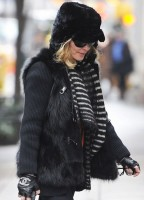 Madonna out and about in New York - 11 February 2012 (7)