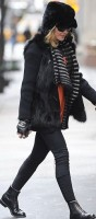 Madonna out and about in New York - 11 February 2012 (8)