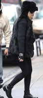 Madonna out and about in New York - 11 February 2012 (9)