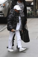 Madonna out and about in New York - 11 February 2012 (10)