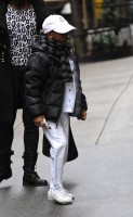 Madonna out and about in New York - 11 February 2012 (11)