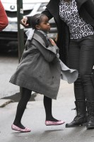 Madonna out and about in New York - 11 February 2012 (14)