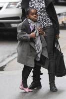 Madonna out and about in New York - 11 February 2012 (15)