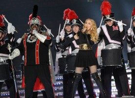 Madonna Official Super Bowl and Give me all your luvin pictures (8)