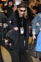 Madonna and Lourdes at JFK airport - 21 February 2012 UPDATE 2 (3)