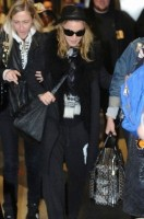 Madonna and Lourdes at JFK airport - 21 February 2012 UPDATE 2 (4)
