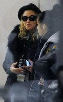 Madonna and Lourdes at JFK airport - 21 February 2012 UPDATE 2 (5)