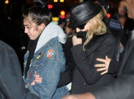 Madonna and Lourdes at JFK airport - 21 February 2012 UPDATE 2 (6)