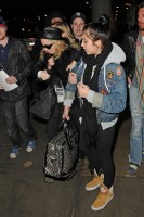 Madonna and Lourdes at JFK airport, 21 February 2012 - Update 3 (3)