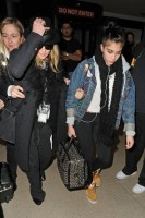Madonna and Lourdes at JFK airport, 21 February 2012 - Update 3 (5)