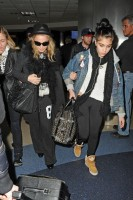 Madonna and Lourdes at JFK airport, 21 February 2012 - Update 3 (21)