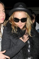 Madonna and Lourdes at JFK airport, 21 February 2012 - Update 3 (29)
