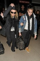 Madonna and Lourdes at JFK airport, 21 February 2012 - Update 3 (30)