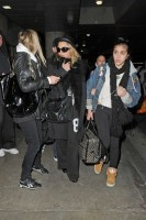 Madonna and Lourdes at JFK airport, 21 February 2012 - Update 3 (31)