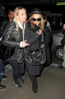 Madonna and Lourdes at JFK airport, 21 February 2012 - Update 3 (33)