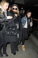 Madonna and Lourdes at JFK airport, 21 February 2012 - Update 3 (34)
