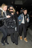Madonna and Lourdes at JFK airport, 21 February 2012 - Update 3 (43)