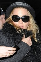 Madonna and Lourdes at JFK airport, 21 February 2012 - Update 3 (44)