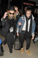 Madonna and Lourdes at JFK airport, 21 February 2012 - Update 3 (46)
