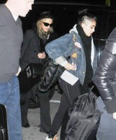 Madonna and Lourdes at JFK airport - 21 February 2012 UPDATE (7)