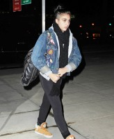 Madonna and Lourdes at JFK airport - 21 February 2012 UPDATE (12)