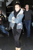 Madonna and Lourdes at JFK airport - 21 February 2012 UPDATE (13)