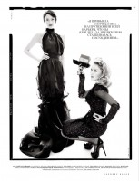 Madonna by Tom Munro for Russian Harper's Bazaar - February 2012 (5)