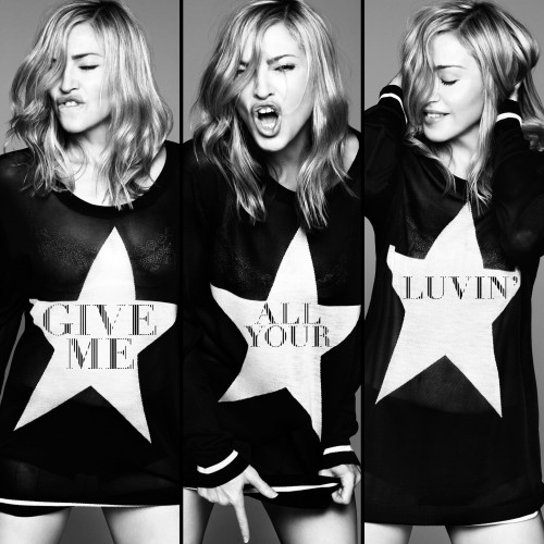 Give me all your Luvin - Front and Back cover in HQ (2)