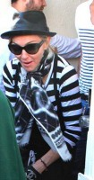 Madonna at the Kabbalah Centre, 25 February 2012 (1)