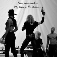 Madonna World Tour Rehearsals - Slacklining (3)