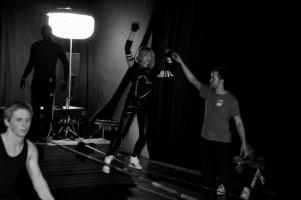 Madonna World Tour Rehearsals - Slacklining (1)