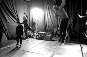 Madonna World Tour Rehearsals - Slacklining (2)