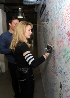 Madonna and Jimmy Fallon at the Facebook Wall in New York (4)