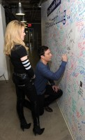 Madonna and Jimmy Fallon at the Facebook Wall in New York (5)