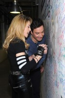 Madonna and Jimmy Fallon at the Facebook Wall in New York (9)