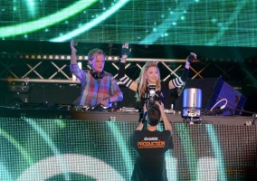 Madonna and Avicii at the Ultra Music Festival in Miami - 24 March 2012 (15)