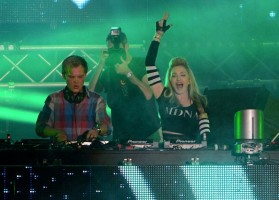 Madonna and Avicii at the Ultra Music Festival in Miami - 24 March 2012 (16)
